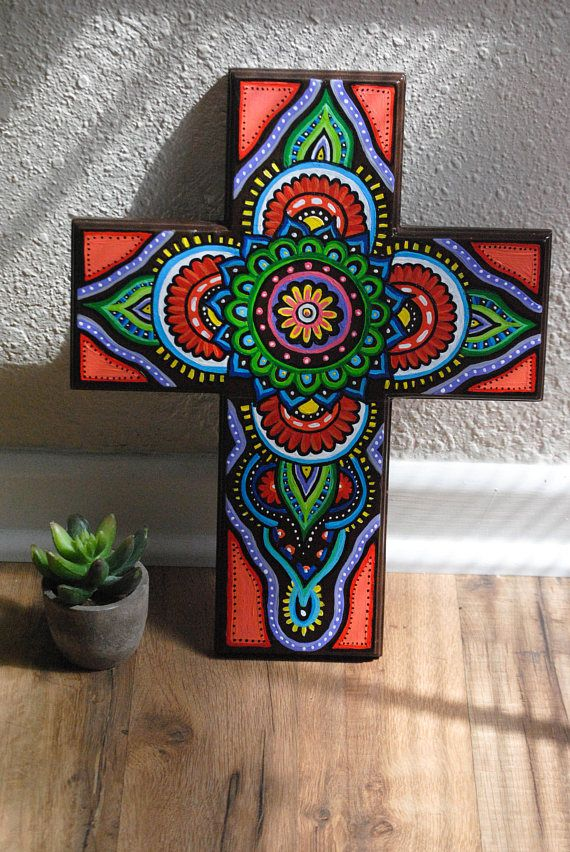 Best 25 Painted Wooden Crosses Ideas On Pinterest Hand