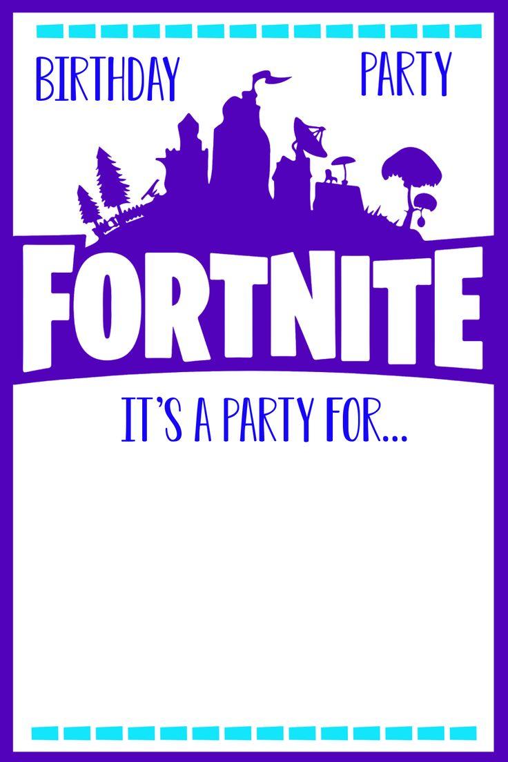 fun fortnite birthday party  funsquared in 2020  happy