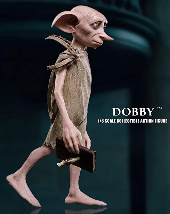 Amazon Com Star Ace Toys Harry Potter Und Die Kammer Des Schreckens Dobby Massstab 1 6 Action Figur Toys Games Harry Potter Miniatures Dobby Potter