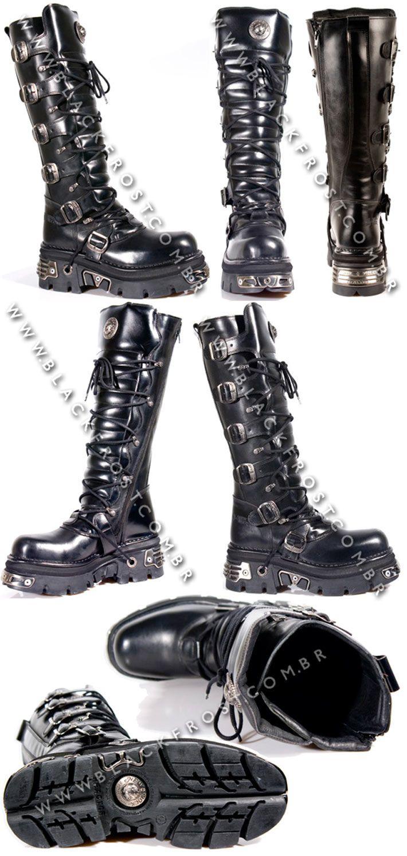 Bota M.272-s1 New Rock - Masculinos | Black Frost