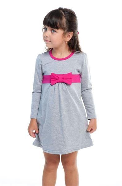 Купить трекотажное платье для девочек