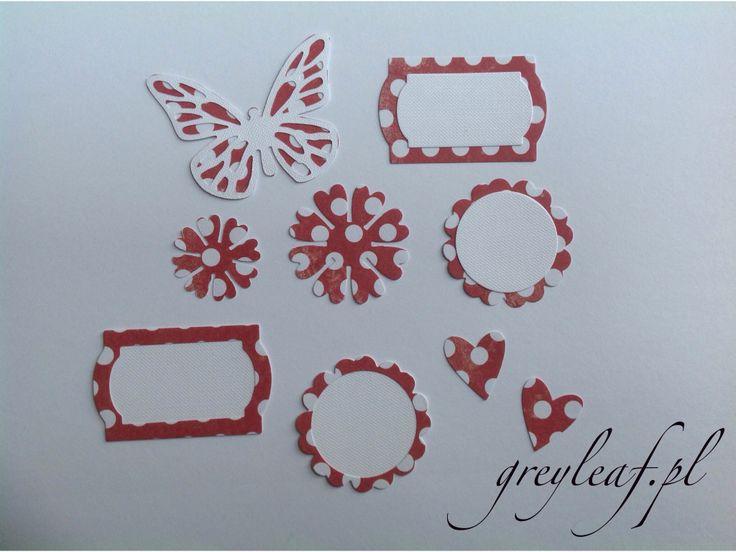 Red scraps :) www.greyleaf.pl
