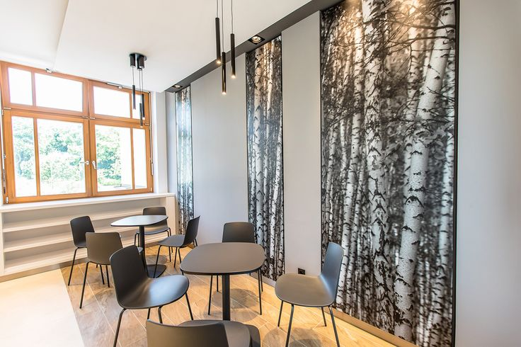 Amerikai iskola – B épület kávézó Helyszín: AISB, Nagykovácsi Tervezés éve: 2017 Tervező: Hion design