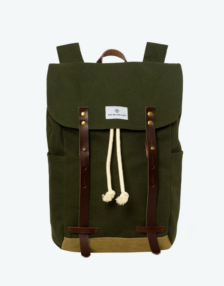 No. 2 - Backpack, Green – Ada Blackjack