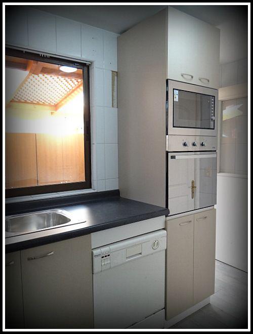Muebles a reos enchapados con textura muebles base enchapados sin textura tiradores met licos - Cocinas sin muebles arriba ...