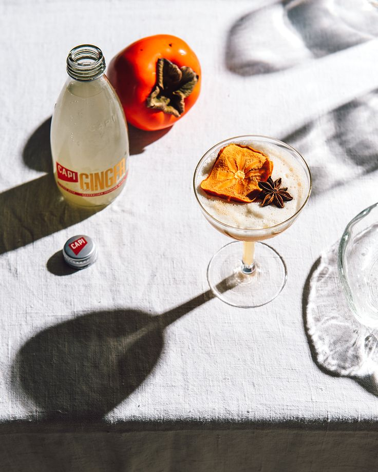 This elegant and spicy little number evokes the feeling of an afternoon spent basking in the winter sun. Cause a stir at your next dinner party with your very own homemade persimmon simple syrup.