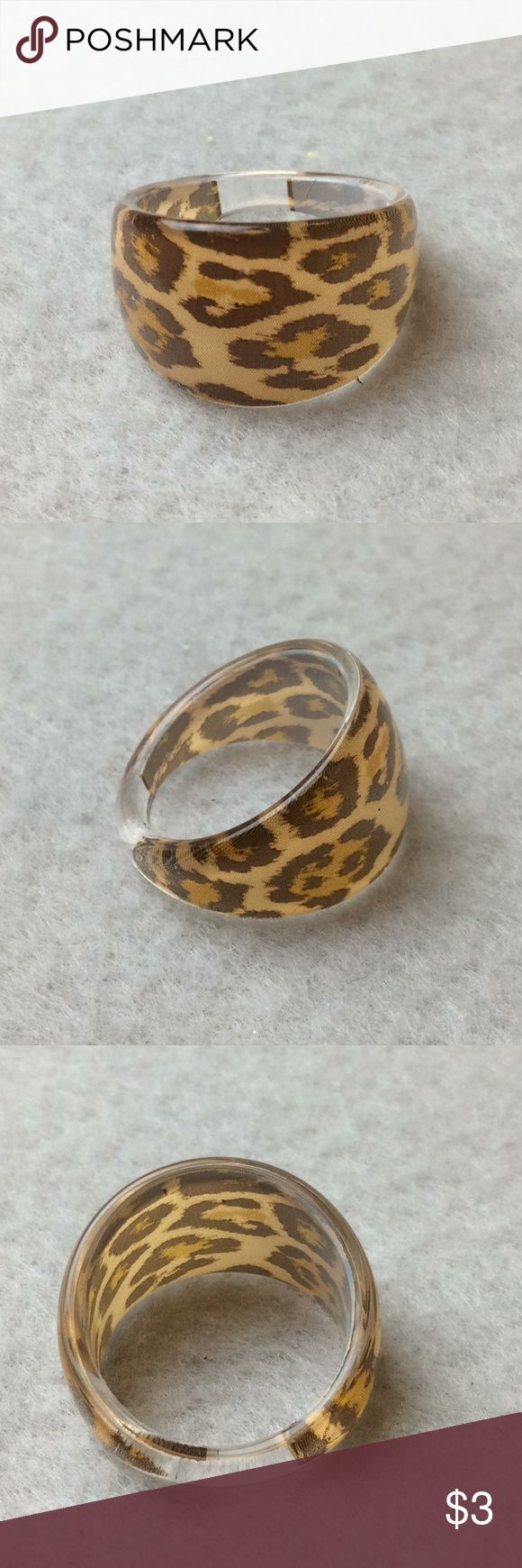 New Animal Print Ring - Size 6 Bundle 3 or more items and Save 20% 3732 Jewelry Rings