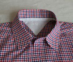 Мастер класс с подробностями и секретами. Cuello de Camisa de Hombre