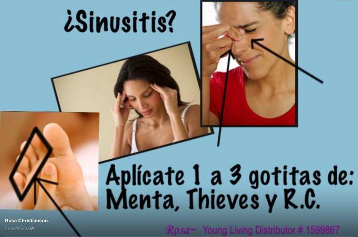No más presión en los senos nasales, ni dolores de cabeza, Adiós a la sinusitis!