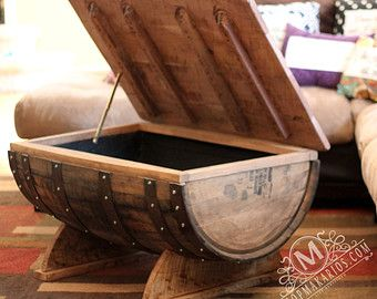 wine barrel furniture on Etsy, a global handmade and vintage ...