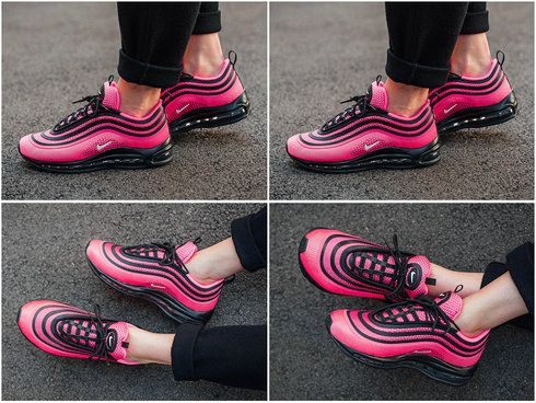 eaaff82f72a10 Popular Nike Air Max 97 Ultra 17 Racer Pink Black White 917999-001 Nike Air  Max 97 On Line