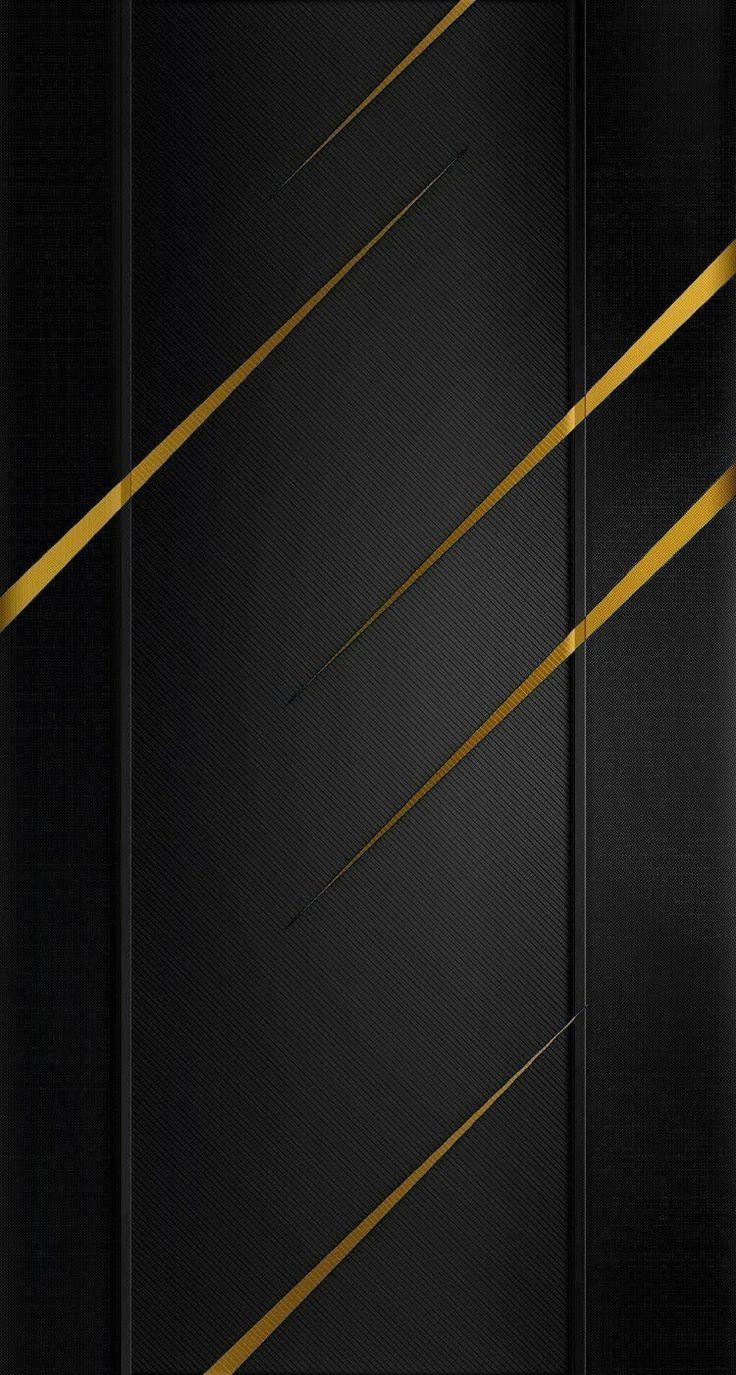 Iphone 6 Black Gold Wallpaper