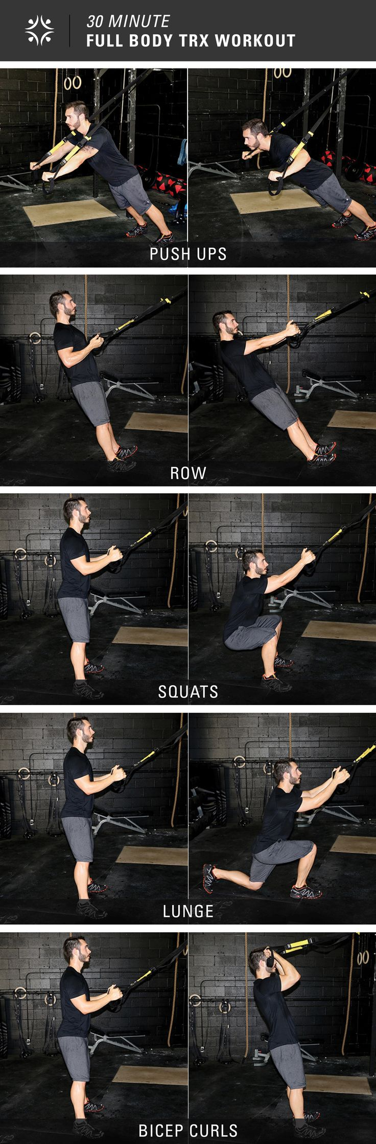 5 Exercises, 30 Minutes = Full Body Workout