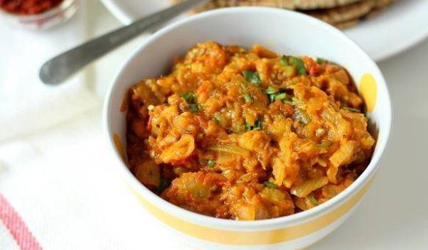 Baingan Bharta Recipe (Punjabi)