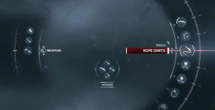 Assassin's Creed 3 menu
