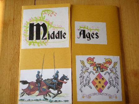 Middle Ages Lapbook. Great way to learn! #JustJoustIt