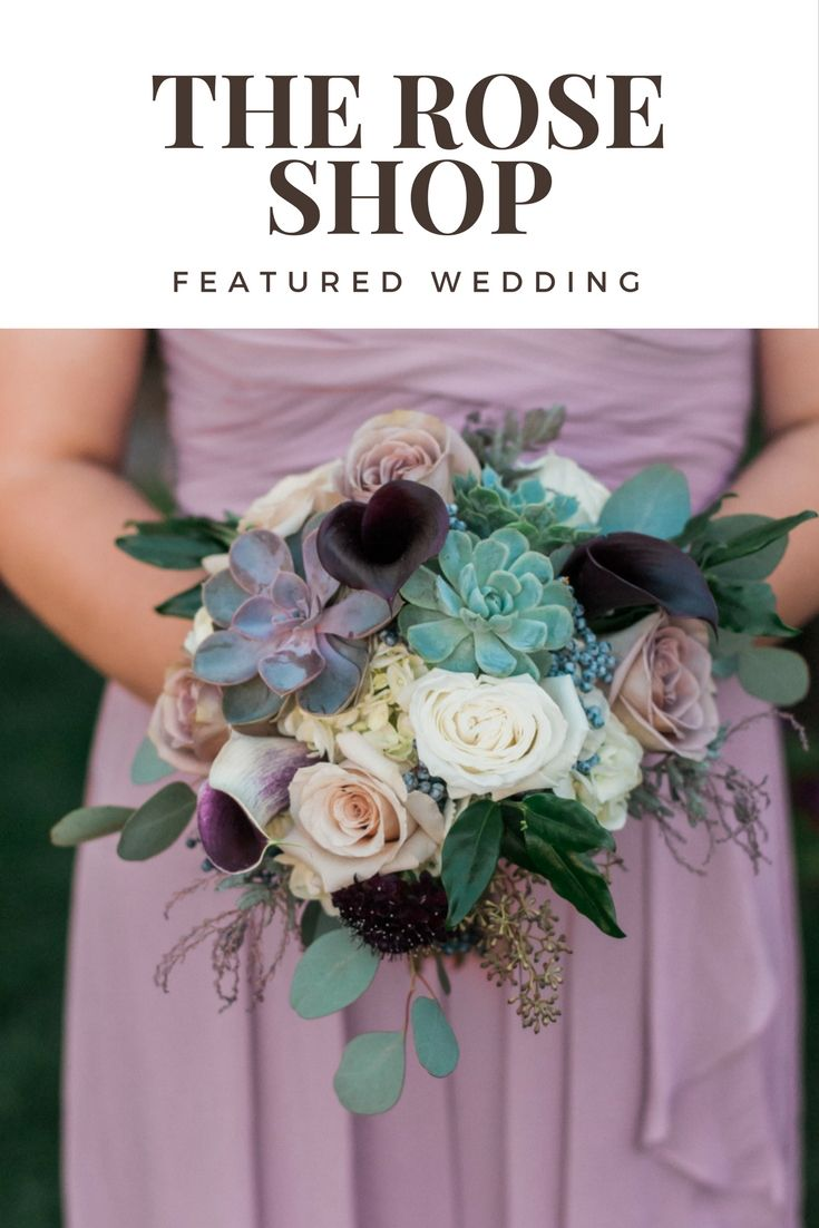 A featured wedding at Le Jardin with wedding flowers by The Rose Shop | Bouquets | Flower Crown | Centerpieces | Lavender | Succulents | Cream | Dusty Rose | #lejardinweddings #roseshopflowers #utahwedding #utahweddingflorist #utahbrideandgroom #weddingflowers