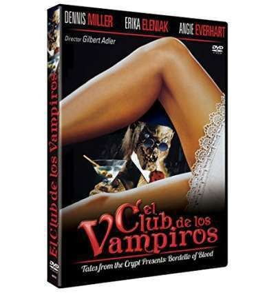 El Club de los Vampiros DVD 1996 Tales from the Crypt Presents: Bordello of Blo