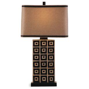 Southwestern Table Lamps by BASSETT MIRROR CO.
