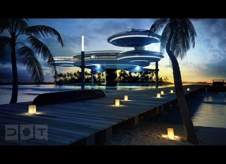 PHOTOS Dubai Plans Underwater Discus Hotel