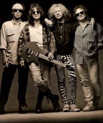 Van Halen, or as lovingly referred to then...Van Hagar 1992