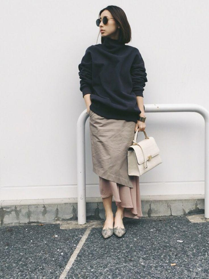 黒石奈央子さんのコーディネート