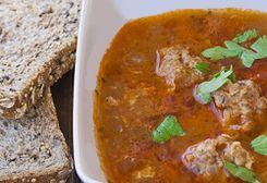 Ciorba with Meat Balls / Ciorba de perisoare :: Romanian Food Recipes