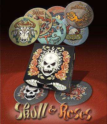 Skull & Roses - Jedisjeux : le site communautaire des jeux de société