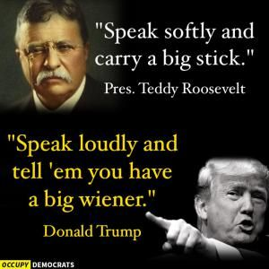 Funny Donald Trump Pictures and Viral Images: Donald Trump vs. Teddy Roosevelt