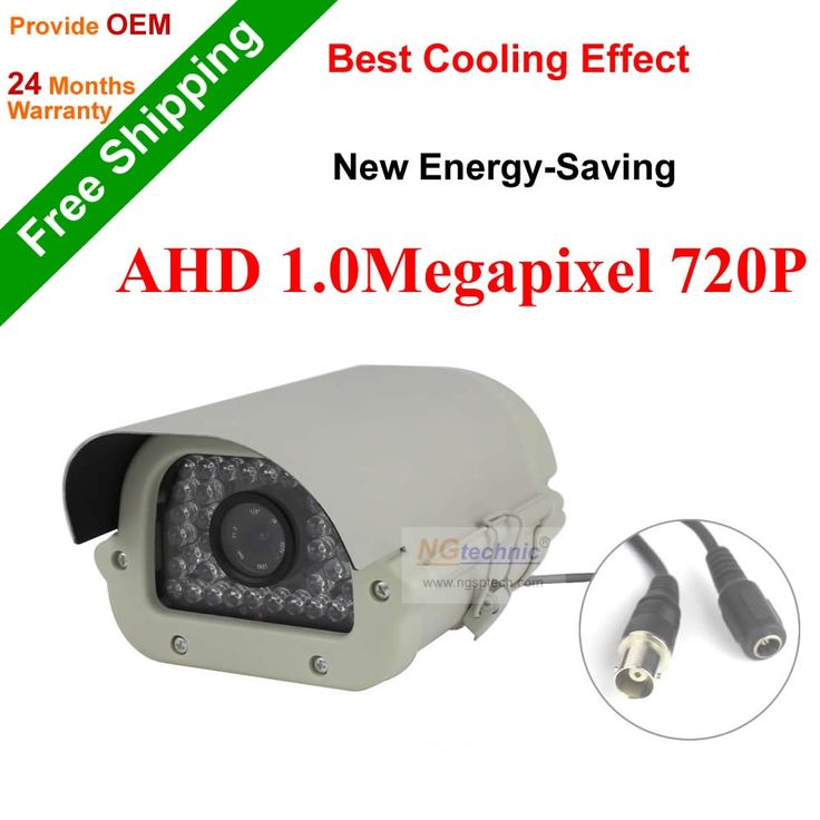 46.54$  Buy here - http://ai21y.worlditems.win/all/product.php?id=32565997118 - High Definition 1.0MP AHD Camera Waterproof 720P With IRCUT Night Vision CCTV Security System Outdoor Surveillance Camera