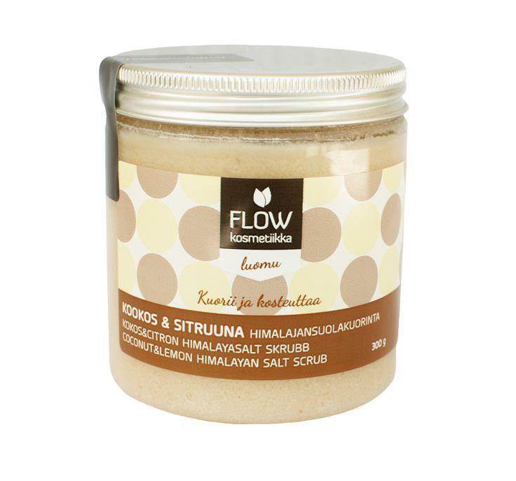 Coconut&Lemon Salt Scrub http://www.flowkosmetiikka.fi/epages/vilkas02.sf/en_GB/?ObjectPath=/Shops/20110413-11092-34237-1/Products/213
