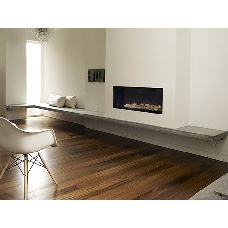 Anthony Concrete Design • Concrete Fireplace Hearth - Fireplaces & Stoves - Modenus Catalog