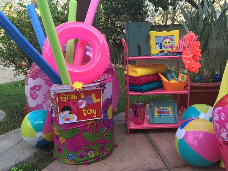 Swimming/Pool/Summer Party Summer Party Ideas | Photo 9 of 36 | Catch My Party