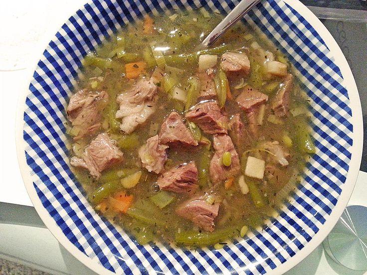 Grüne Bohnensuppe (Rezept mit Bild) von Alexandra | Chefkoch.de