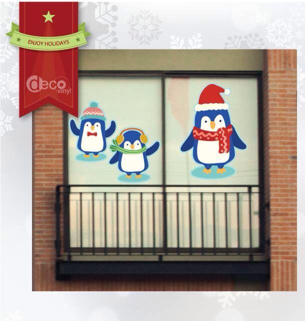 Vinilos Decorativos Ref: Pingüinos