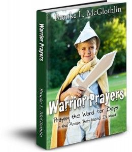 A prayer guide for mothers of boys - Warrior Prayers: Praying the Word for Boys in the Areas They Need it Most is ON SALE for just $2! PDF version only.