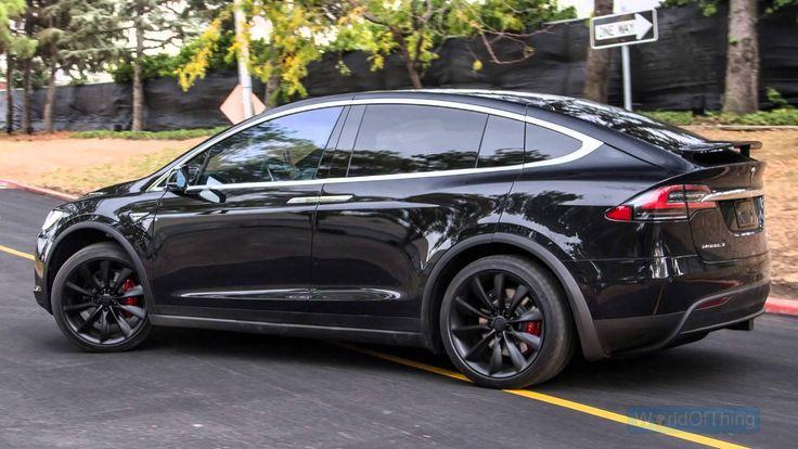 Tesla, Model X, exterior.