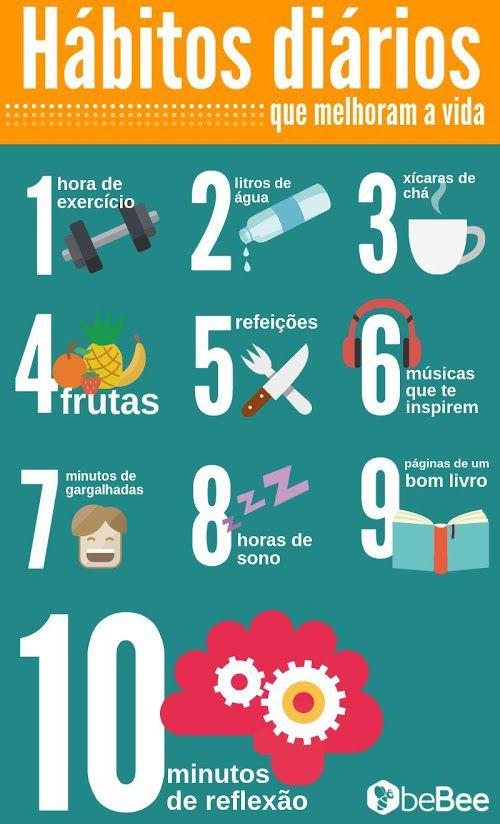 Hábitos que mejoran tu vida.