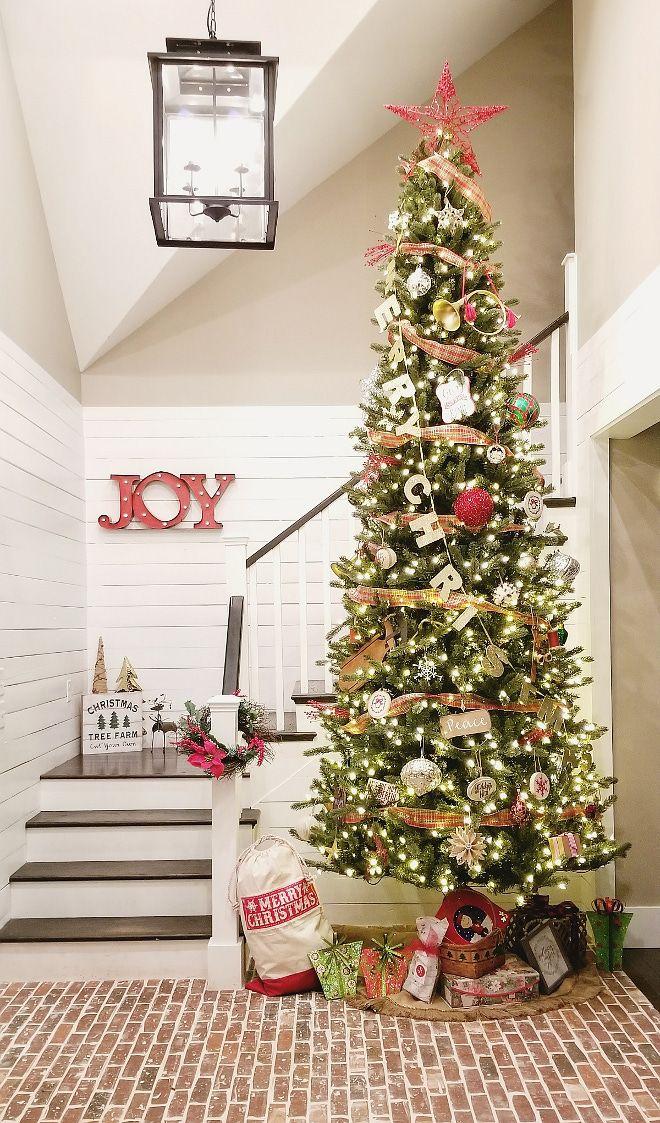 Farmhouse Christmas Tree 12 Foot