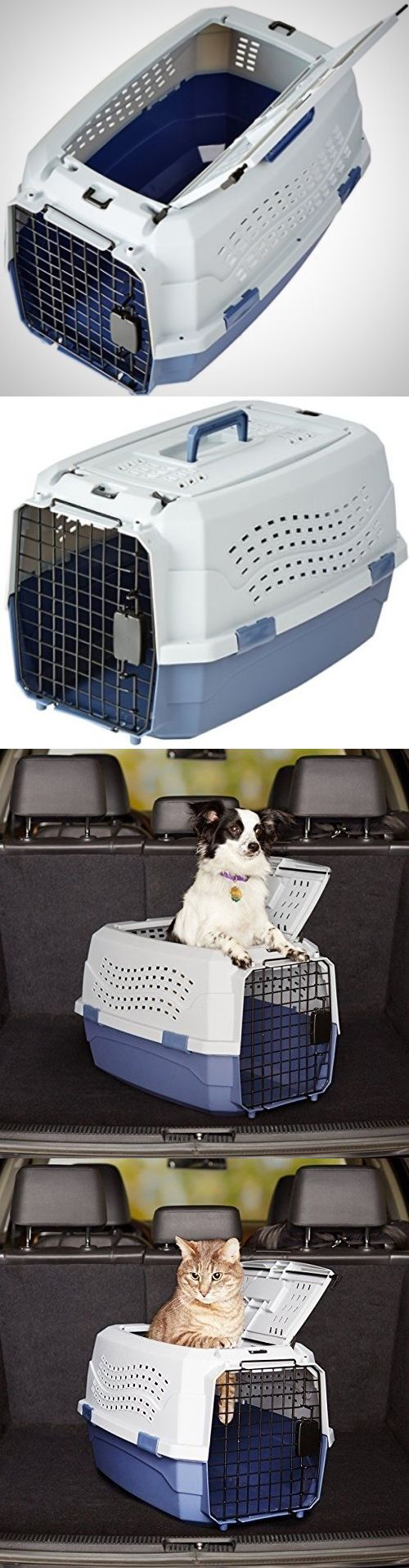 Carriers and Totes 177788: Pet Carrier Two Door Top Load Kennel Travel Crate Dog Cat Puppy Cage New 23 Inch -> BUY IT NOW ONLY: $35.99 on eBay!