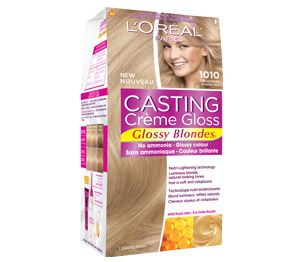 Cast yourself in a new colour with Casting Creme Gloss! Casting gives you glossy colour that is amazingly shiny. The ammonia-free formula smells so good and contains Royal Jelly that leaves hair feeling so soft. The crème formula softly blends away greys and is semi-permanent so you can change it up once every 28 shampoos!
