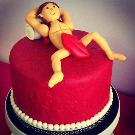 pastel temático para la despedida de soltera