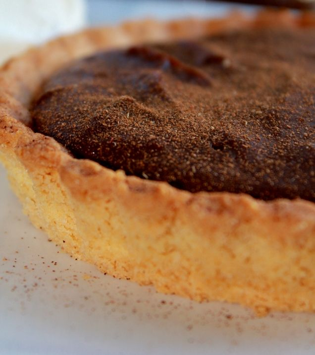 Chocolate Amarula Milk Tart