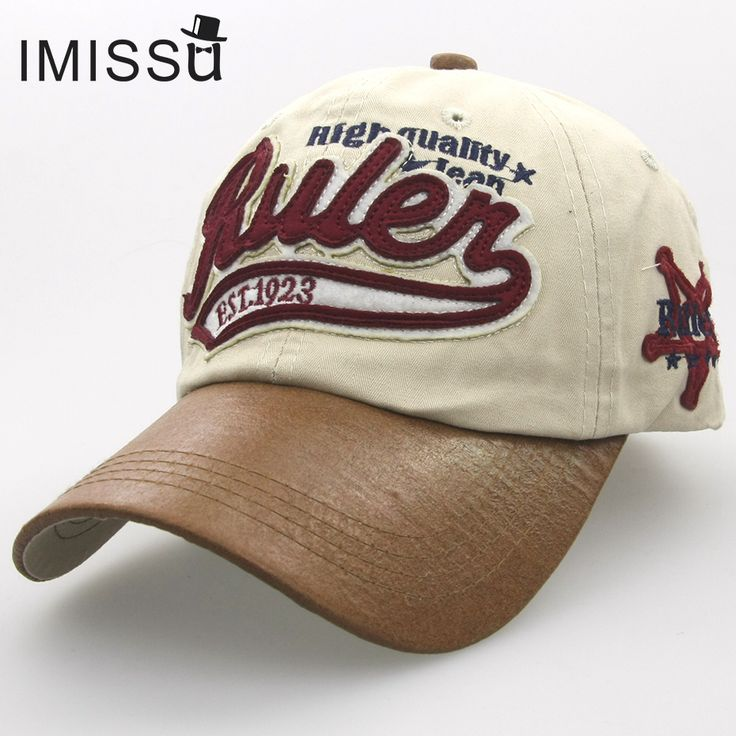 leather baseball cap trend hat fashion tumblr adjustable casual hip hop dad caps 2015