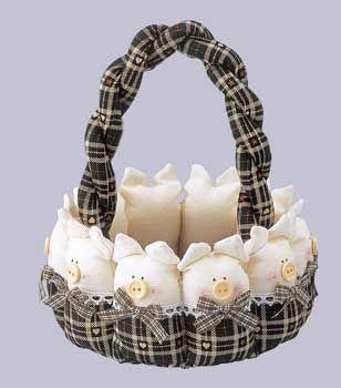 piggy basket