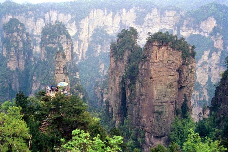 Zhangjiajie National Forest Park in China
