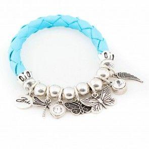 Bibi Bijoux turquoise rope stretch bracelet