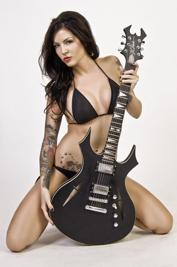 Naked guitar gothic speak this