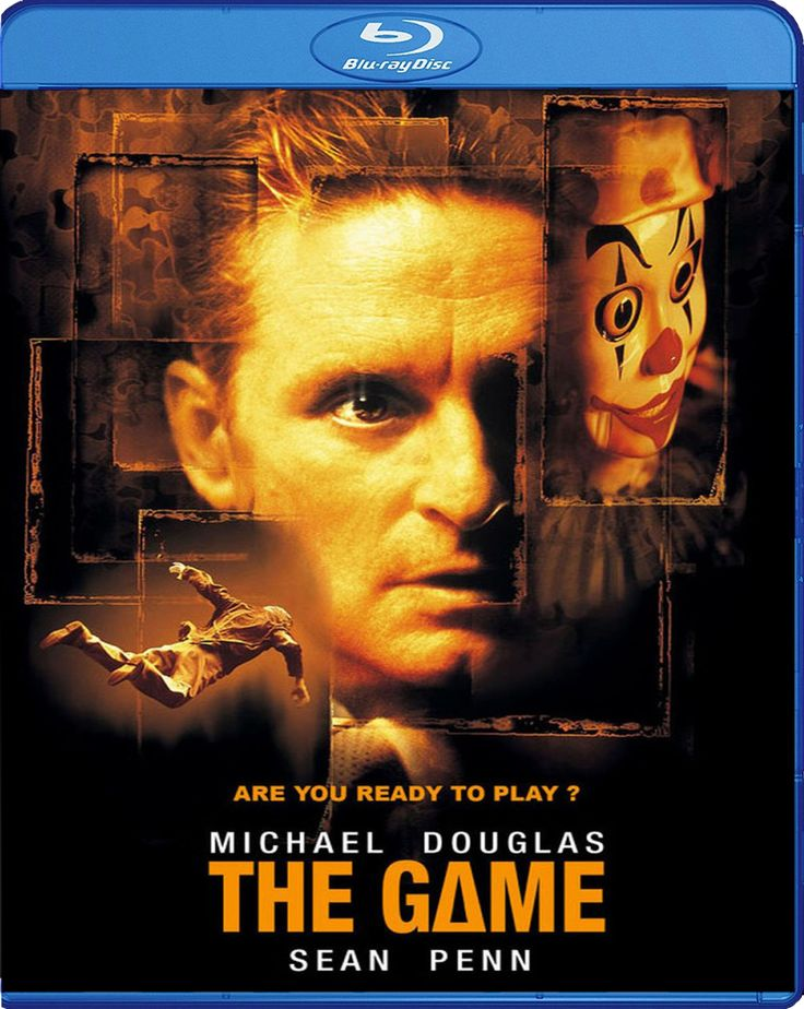 The Game - Oyun [1997] Blu-ray Cover