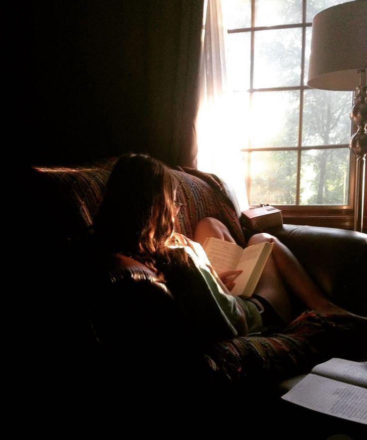 Sonntag Nacht Stimmung mood # Gelassenheit 📚📚📚 wenn du gute Bücher fü…